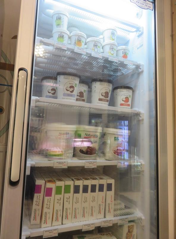 Govegveganshop, freezer