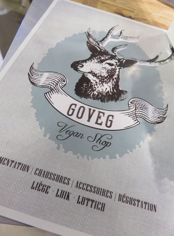 Goveg vegan shop, logo