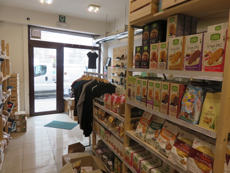 Goveg vegan shop, interior