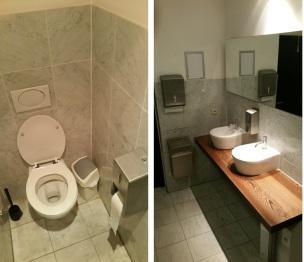 Toilets at Aqua del Mar, Ostend