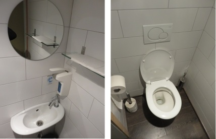 Toilets were spotlessly clean, and modern, Loving Hut Classic Louvain,