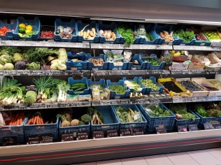fresh vegetables, Vier de Seizoenen, Bruges