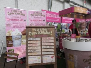 Professor Grunschnabel (icecream), Veggieworld