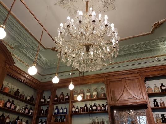 chandelier, le Botaniste, Ghent