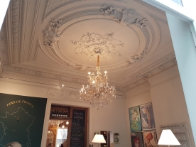 another chandelier, le Botaniste, Ghent