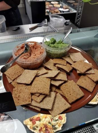 vegan breads spreads, Origin'O, Bruges