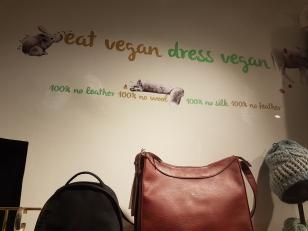 eat vegan, dress vegan , Amapola, Barcelona