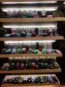 socks and stockings, Leeloo, Bruges